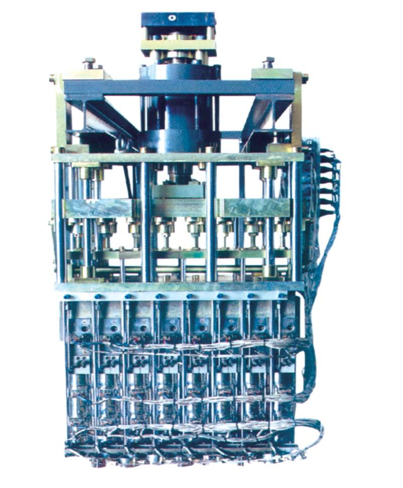 دای هد دستگاه پلاستیک بادی اکستروژن بلومولدینگ دو استیشن